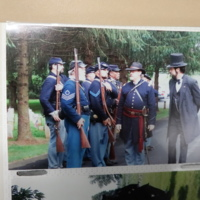 Radcliffe and Union Living History Interpreters in Formation