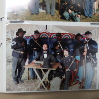 Radcliffe and Fellow Living History Interpreters