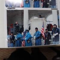 Bill Radcliffe at Arlington National Ceremony