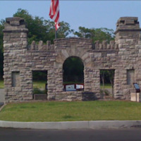 Fort Negley Gate Entrance